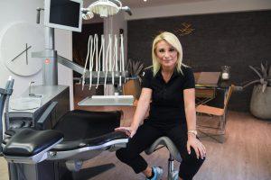 Dr. Cristina Morfiri, Cosmetic Dentist in Glyfada Athens.